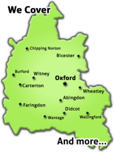 map of oxford tree surgeons